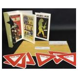 Pearl Jam Souvenirs From The Ten Club Postcard Set
