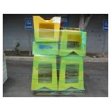 PALLET OF YELLOW STEP STOOLS