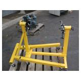 PALLET WITH 2 ROTATING ENGINE MOUNTS