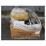 PALLET OF ASSORTED PARTS FOR CNG ENGINE