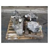 PALLET WITH 4 KIA TRANSMISSIONS
