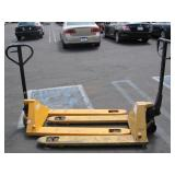 LOT WITH 2 PALLET JACKS