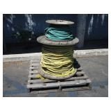2 SPOOLS WITH ROPE