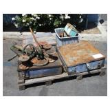 3 HYDRAULIC BENDERS & ASSORTED SHOP TOOLS