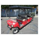 GOLF CAR  AT   COLOR: RED, HOURS: 783VIN: