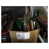 BOX WITH ASSORTED GARDENING ITEMS