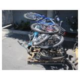 PALLET OF ASSORTED BICYCLES