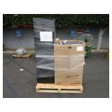 A PALLET WITH COMMUNICATION SYSTEMS & SERVERS