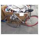 1 SILVER BICYCLE