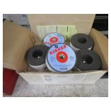 BOXES WITH GRINDING WHEELS