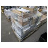 A PALLET OF ASSORTED PRINTERS