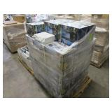 A PALLET WITH HUMIDIFIERS
