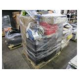 A PALLET OF ASSORTED HOUSEHOLD ITEMS