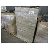 A PALLET WITH AUDIO SYSTEM