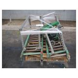 PALLET WITH ROLLERS &  VARIABLE SPEED DC MOTOR