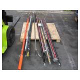 PALLET OF T-BAR EXTENSIONS