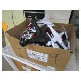 BOX WITH ASSORTED DRONES