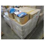 A PALLET WITH CLUMPING CAT LITTER