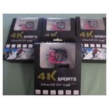 1 LOT W/4K WIFI 1080P ACTION CAMERA
