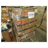 A PALLET WITH SNACK MIX