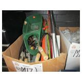 BOX WITH GARDENING TOOLS
