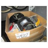 BOX WITH WELDING MASKS