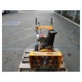 GASOLINE SNOW THROWER, 212 CC LONCIN ENGINE (BRAND