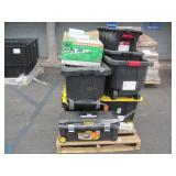 PALLET OF ASSORTED TOUGH TOTES & SCOTTS CLASSIC MO
