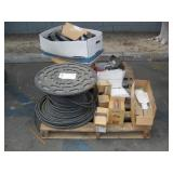 PALLET OF ASSORTED VALVE & PUMP FITTINGS