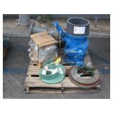 PALLET OF PUMP FITTING & ACCESSORIES