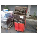 LOT OF 4 TOOL BOXES