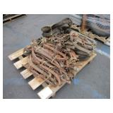 PALLET WITH LIFE STOCK & HARNESSES