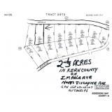 2 1/3 ACRES IN KERN COUNTY