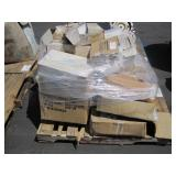 PALLET OF 9X12 CLEAR PLASTIC BAGS