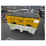 LOT WITH 3 CONTAINMENT PALLETS