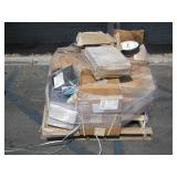 PALLET OF ASSORTED OFFICE EQUIPMENT