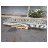 PALLET WITH 5 CONVEYORS