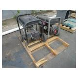 A PALLET WITH TWO GENERATORS