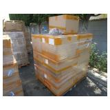 PALLET WITH BOYS URINAL TRAINING POTTIES