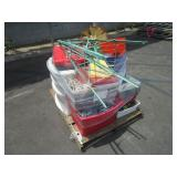 PALLET OF ASSORTED SHOP TOOLS