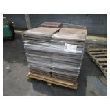 PALLET WITH CERAMIC ROOF TILES