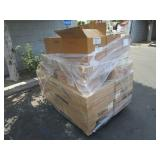 PALLET WITH COOK CHILL SUPPLIES