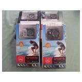 1 LOT W/ACTION CAMERAS