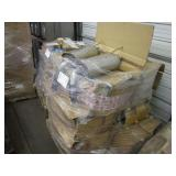 PALLET WITH EXHAUST PIPES