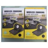 1 LOT W/WIRELESS CHARGING CAR HOLDER
