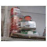 PALLET WITH REEL MOWER & BUCKETS