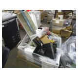 LOT WITH POWER TOOLS & ACCESSORIES