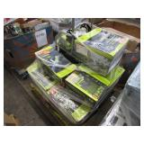 PALLET WITH RYOBI ELECTRIC BLOWER, ELECTRIC