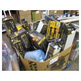 BOX WITH ASSORTED TILE CUTTERS