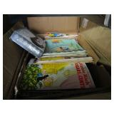 BOX WITH ASSORTED BOOKS & COMICS